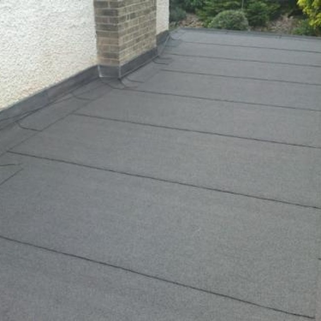 Felt Flat Roofing In Blackpool A Nicholson Roofing